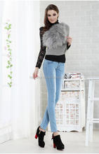 high waist skinny pencil warm pants winter trousers wholesale woman jean
