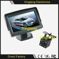 Wired/Wireless 4.3 Inch Monitor Car Rearview Parking Camera Security System