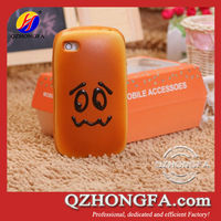 Hot selling for iPhone 4 4S 5 Case with Bread Face Design
