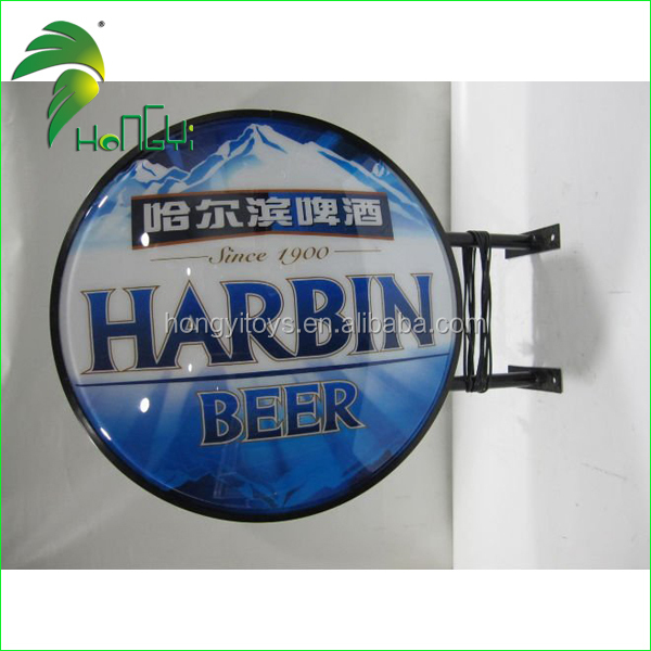Wholesale Acrylic light box for beer advertising for sale