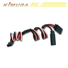 300mm 30cm Y type Servo extended line Wire Cable for RC Battery ESC Futaba JR Quadcopter
