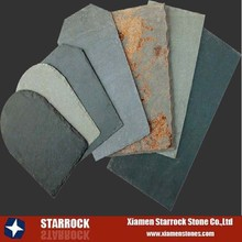 Natural slate stone roofing tiles