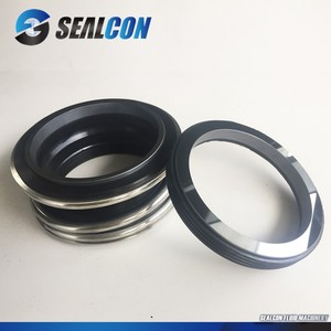 Vacuum pump mechanical seal rubber bellow mg1 Burgmann mechanical seal with for centrifugal pump