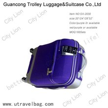 high quality trolley luggage /travel bag/wheeled case with pc design