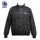 Multi - pocket multi-function three-stitched working pilot padded wadding jacket