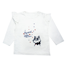 TOP popular high quality thin long sleeve t shirts,baby girl t shirts,plain round neck t-shirt