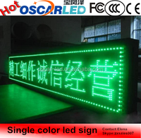 P10 Outdoor Single Color xxx Bus Video LED Open Sign Mobile Trailer LED Sign
