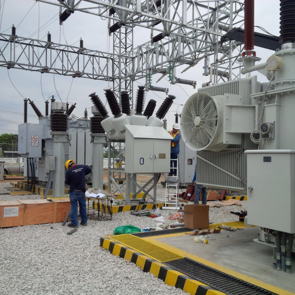 69kv 63mva Power Transformer Mobile Substation with Iron Core