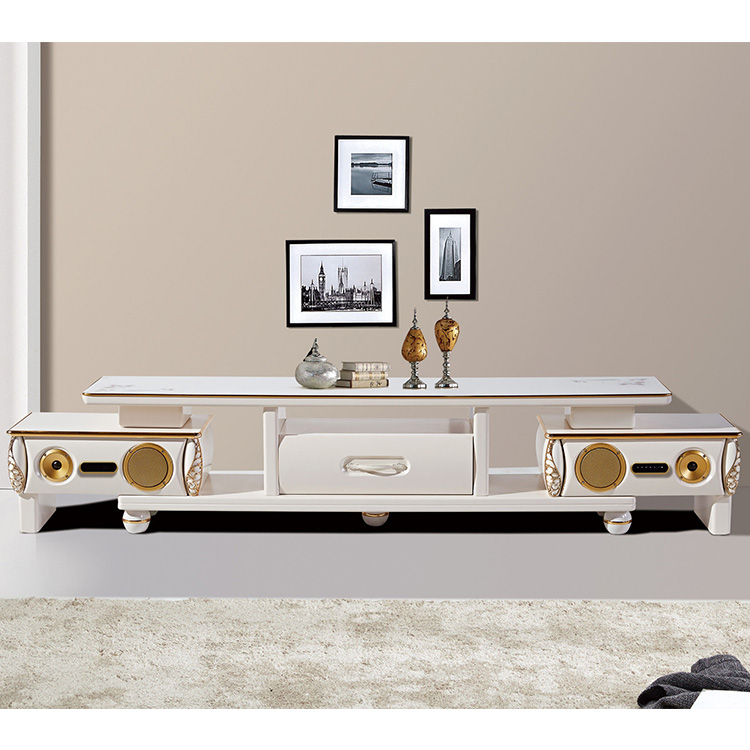 China modern design stereo woody TV stand