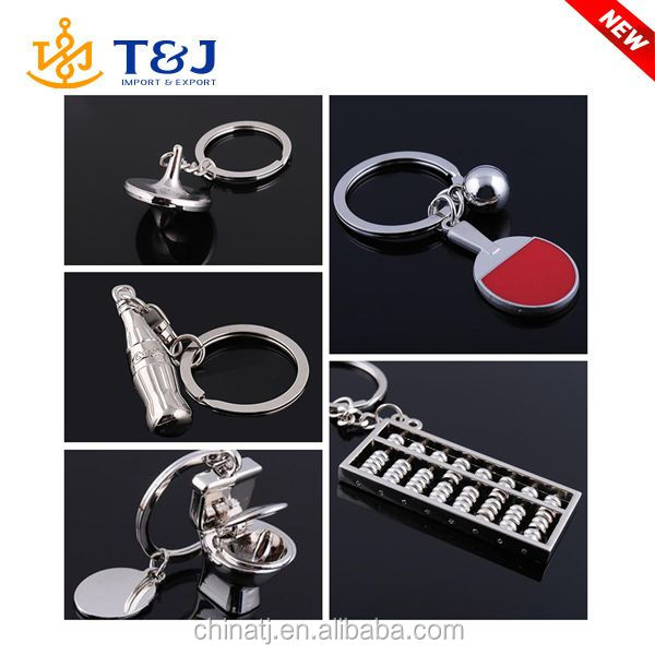 >>T&J Latest design wholesale tennis bottle abacus dream gyro creative gift /keychains for Cgristmas/