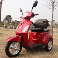 3 wheels electric powered 1000w 48v three wheel electric mobility scooter for old people