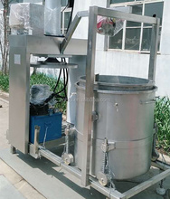 apple juice making machine / continuous grape wine extractor/Wine trough press