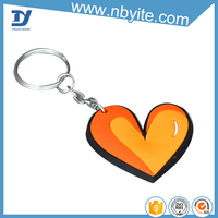 factory price promotional plastic pvc keychain wholesale, cheap custom fashion keychain manufactures in china