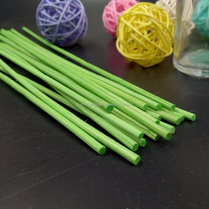 Straight Colored Rattan Diffuser Reed Stick For Fragarnce
