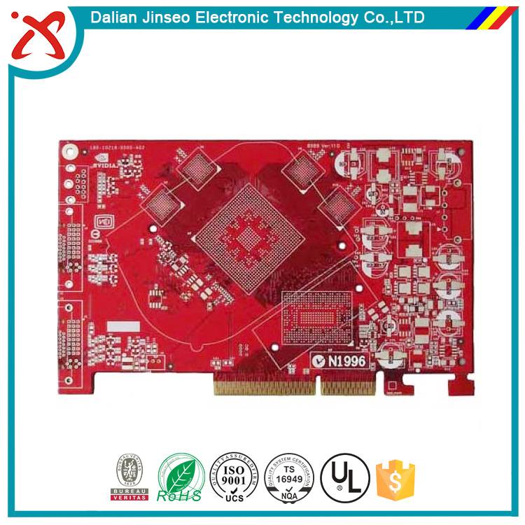 Professional Rogers 4350b multilayer pcb assembly
