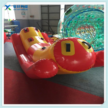 Inflatable rowing/inflatable cartoon water floating rowing/inflatable water park toy