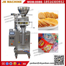 China supplier full automatic potato chips/banana slices packing machine