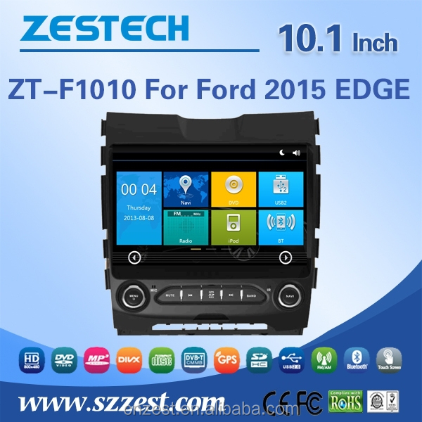 China factory for Ford EDGE 2015 in dash car dvd player with dvd gps navigation