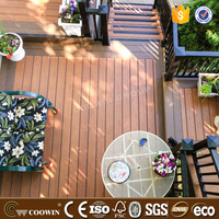 High strength decoration flooring WPC outdoor patio decking