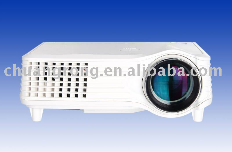 Double HDMI Home Entertainment TV LED Video Projector