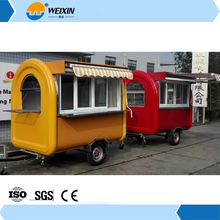 Street Churros Towable mobile fast food trailer