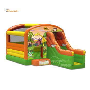 Happy Hop Pro 1004N--Safari Super Bouncer with Slide