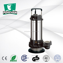 PUMPMAN 2016 QDX6-A 0.5hp low power high efficiency submersible irrigation water pump with float switch