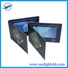 Wholesale 4.3 Inch 3D Birthday Card / Wedding Invitation advertising video card for Promotion video brochure card hd lcd