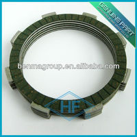 CG125 CLUTCH PLATE in green color friction material, motorcycle clutch handle lever Active Components