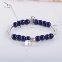 promotional personality Designs Small fresh Tibetan silver accessories ceramic simple jewelry ceramic beads bracelet