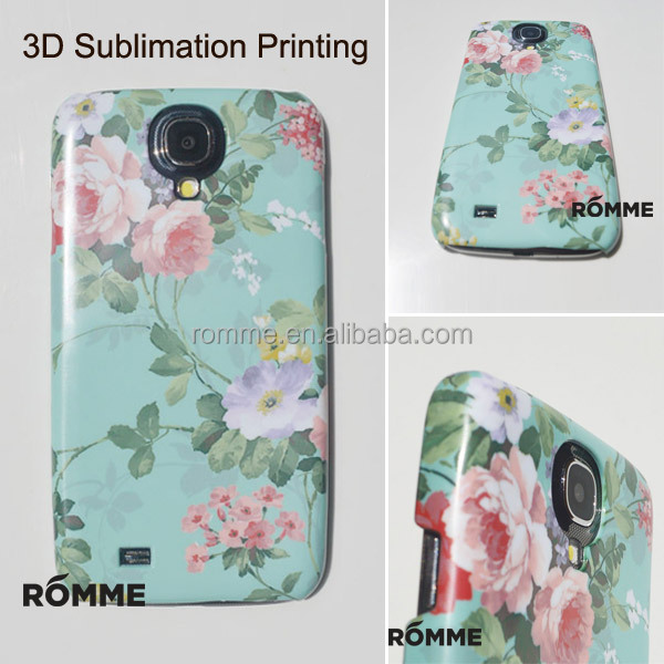 Professionally Mobile Phone Case Manufacturer Supply 3D Sublimation Transfer Printing for Samsung galaxy S4 case covers