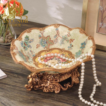 Distributor Wanted for High Quality Exquisite Resin Dry Fruit Plate Decoration Tray in Chaozhou