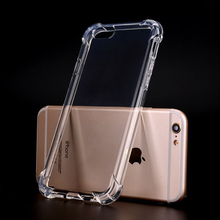 Clear Plastic Shock Proof CaseTPU Transparent Phone Case, For iphone 7 iphone 8 Case