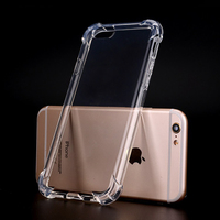 Clear Plastic ShockProof Case TPU Transparent Phone Case, For iphone 7 iphone 8 Case