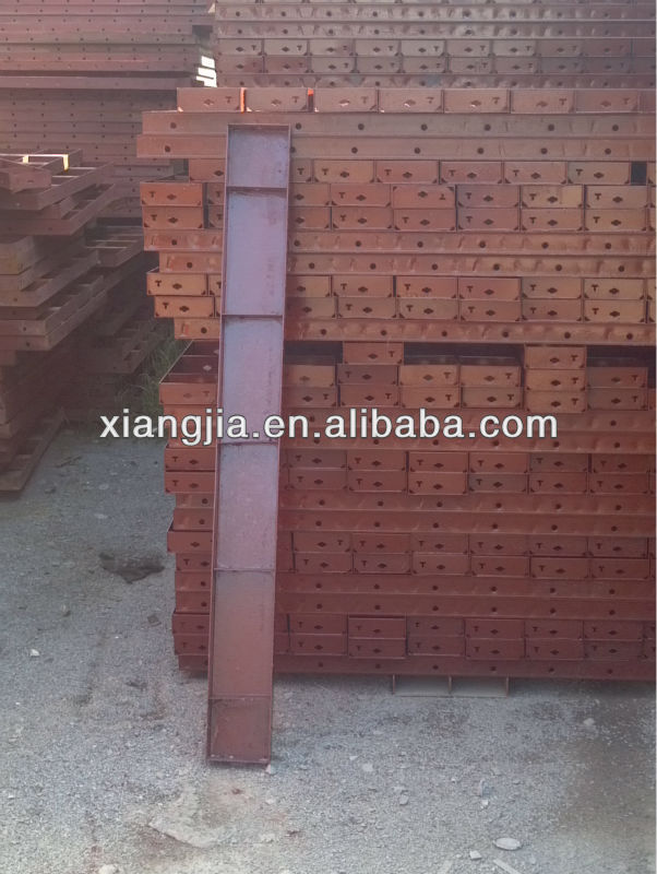 column steel formwork size for concrete
