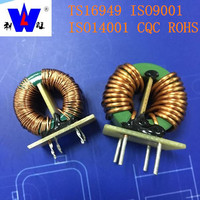 Green MnZn ferrite core common mode Choke Coil toroid inductor