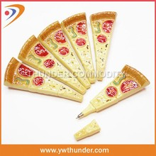 Plastic Noverty Pizza Shaped Pen