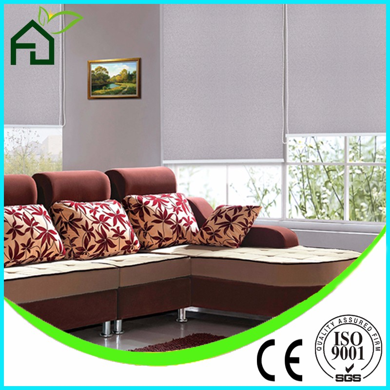 100% Polyester Roller Blinds, Electric Roller Blinds, Waterproof Window Shades