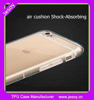JESOY Crystal Hard Bumper For iPhone 5 SE 6 6S Phone Case Air Cushion TPU