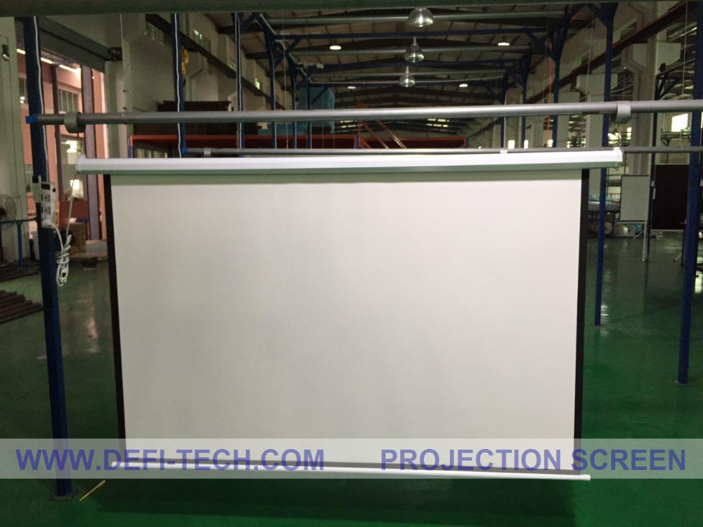 120 inch electric projector screen