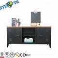 New 58 Inch Door Television Stand With Side Doors,Metal Design