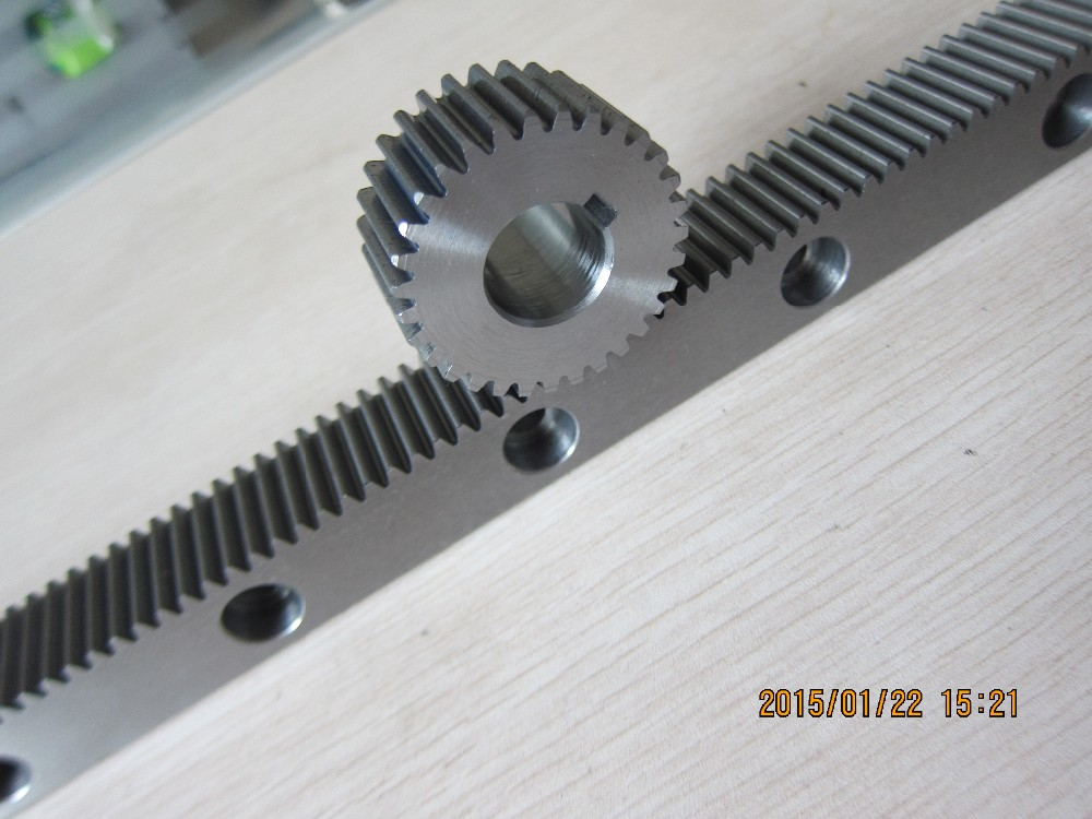 CNC gear rack and pinion with factory price
