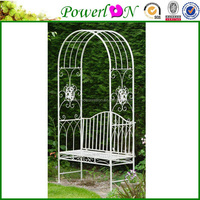 Sale High Quanilty Beautiful United General Supply Co Metal Welcome Arch Bench For Outdoor Garden Backyard