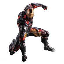 12 inches ironman action figure, plastic 1:6 ironman action collectable figurine, OEM 1:6 collectible articulated figure ODM