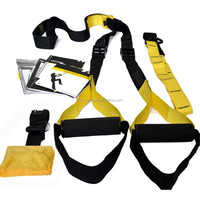 2016 LZX Fitness equipment gym rope TRX suspension trainer
