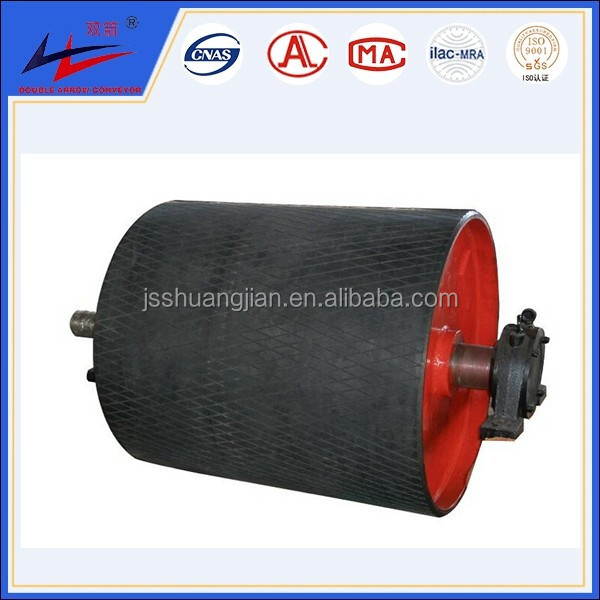 conveyor drum head pulley/ drawing conveyor belt drive pulleys/ belt conveyor snub pulley drum