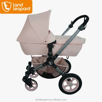 Color pink baby strollers made in xiamen landleopard for Mercedes benz baby pram