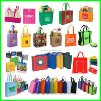 2016 Gold Supplier Wholesales For Promotion Gift Imprint Customized Logo Non-Woven Bag/Woven Bag/Non Woven Bag