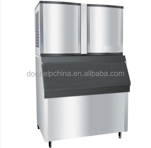 High Capacity large square crushed ice cube maker machine