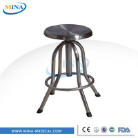 Stainless steel chair used hospital medical examination chair